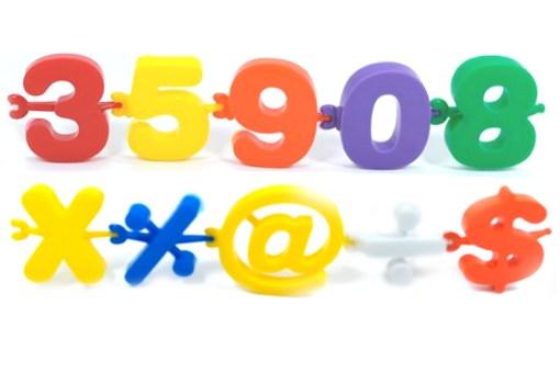 Cadena de números Didácticos - Wiwi bloques de mayoreo