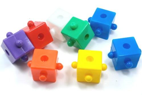 Cubitos Didácticos de ensamble - Wiwi bloques de mayoreo