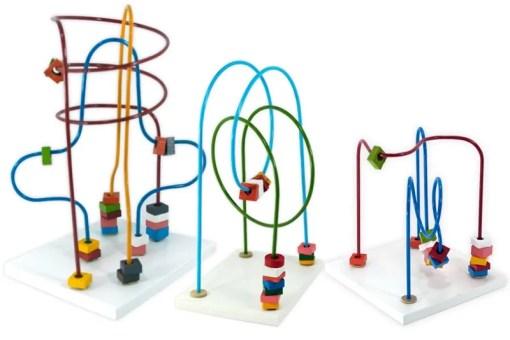 Laberinto Grande de 3 vias - Wiwi Didácticos de mayoreo juguetes de habilidad y destreza