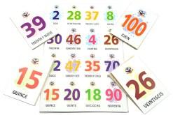 Lotería Didáctica de Los Números - Wiwi Loterías de Mayoreo