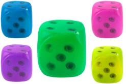 Mini Dados Inflados de 6 cm con 12 piezas - Wiwi Juegos de Mayoreo