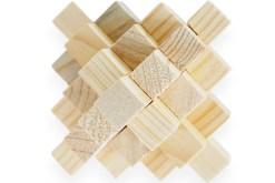 Rompecabezas 3D Diamante 19 de madera - Wiwi Juegos de mayoreo