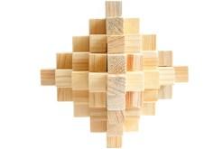 Rompecabezas 3D Diamante 33 de madera - Wiwi Juegos de mayoreo