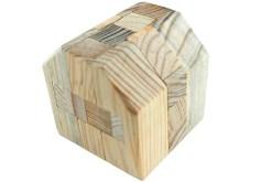 Rompecabezas 3D Forma de Cofre Madera Wiwi Juegos Rompecabezas