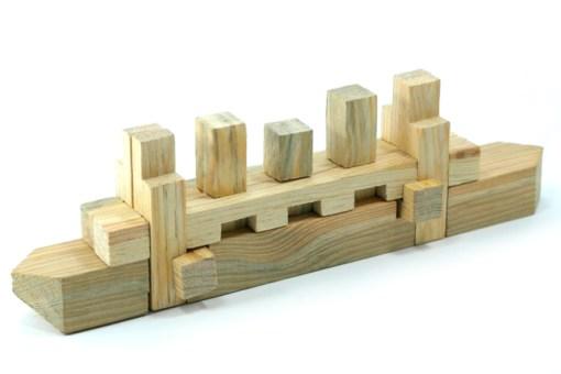 juguetes de habilidad y destreza, Rompecabezas 3D Barco de madera - Wiwi Juegos de mayoreo