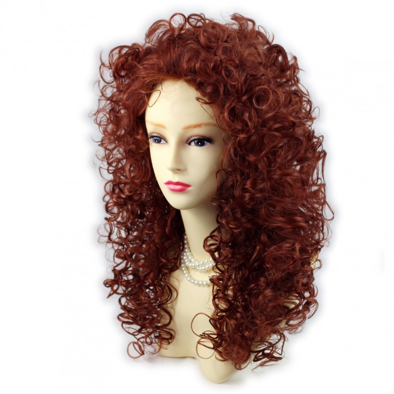 Wiwigs Wild Untamed Long Curly Full Wig Fox Red Ladies