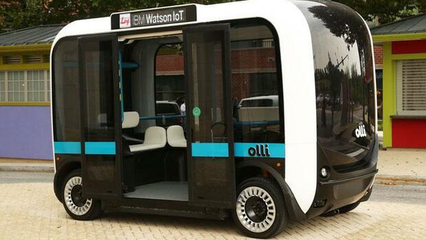 """""""Olli"""". Quelle: Local Motors"""