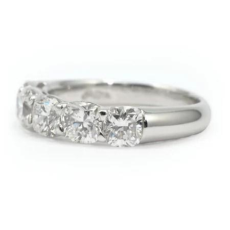 Cushion Cut Diamond Band 072101 JB Star Jewelry