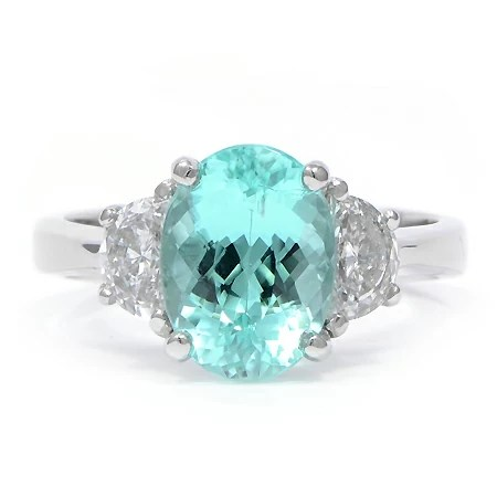 Paraiba Tourmaline Amp Diamond Ring Wixon Jewelers