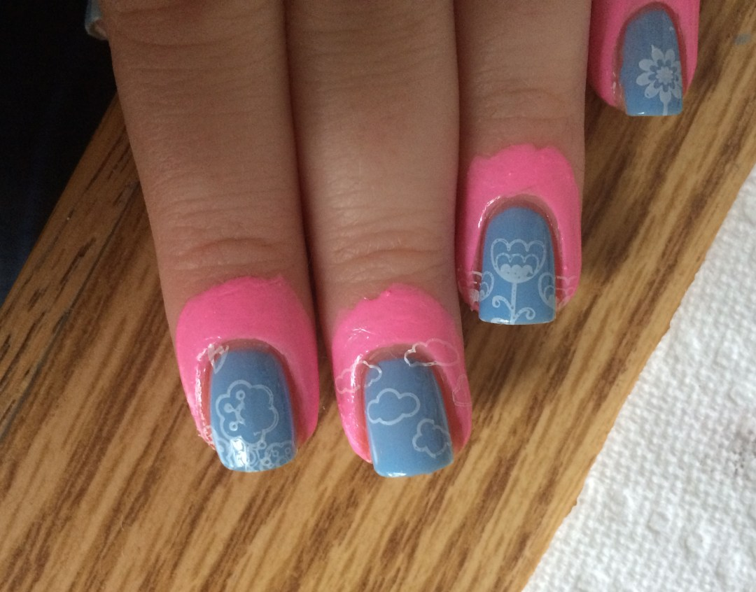 Nails After Stamping | The Rebel Planner