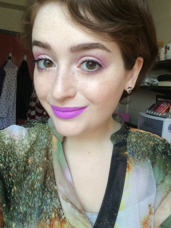 Peach and Pink Spring #FOTD | The Rebel Planner