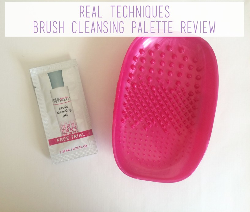 Real Techniques Brush Cleansing Palette Review Overview | The Rebel Planner