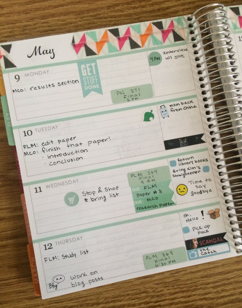 A Week in My Erin Condren Right Side | The Rebel Planner