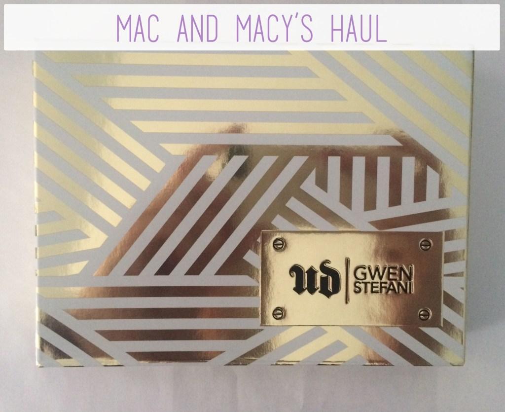 Mac and Macy's Haul   The Rebel Planner