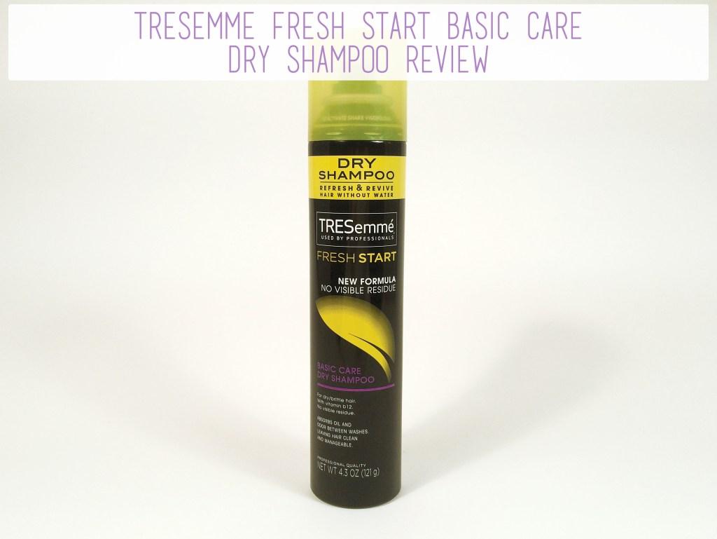 TRESemme Fresh Start Basic Care Dry Shampoo Review | The Rebel Planner