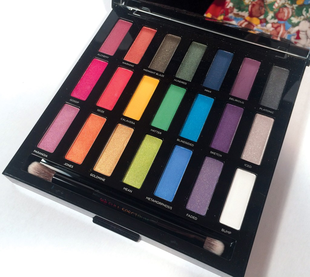 Urban Decay Full Spectrum Palette Review | The Rebel Planner