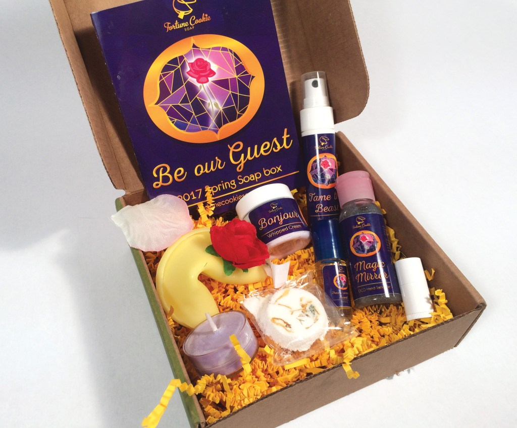 Fortune Cookie Soap Box Be Our Guest Spring 2017