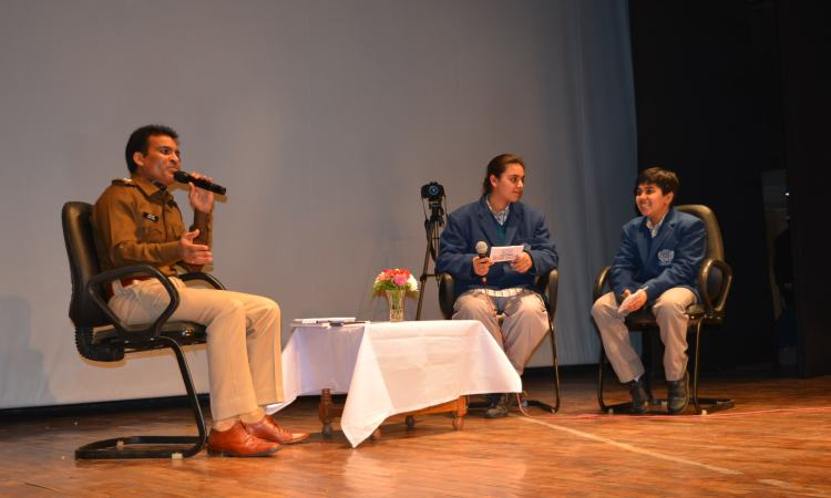 Talk Show on Road Safety