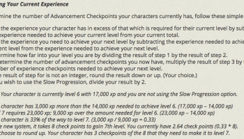 D&D Adventurers League Player Character Conversion for