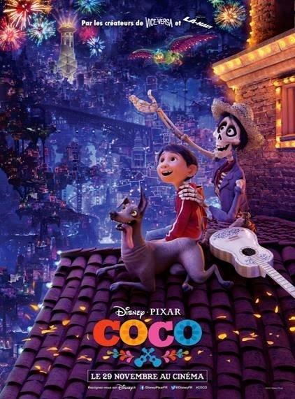 Affiche française de COCO coco Découvrez l'affiche française et la nouvelle bande-annonce de COCO n5vcuoufax affiche 1 coco