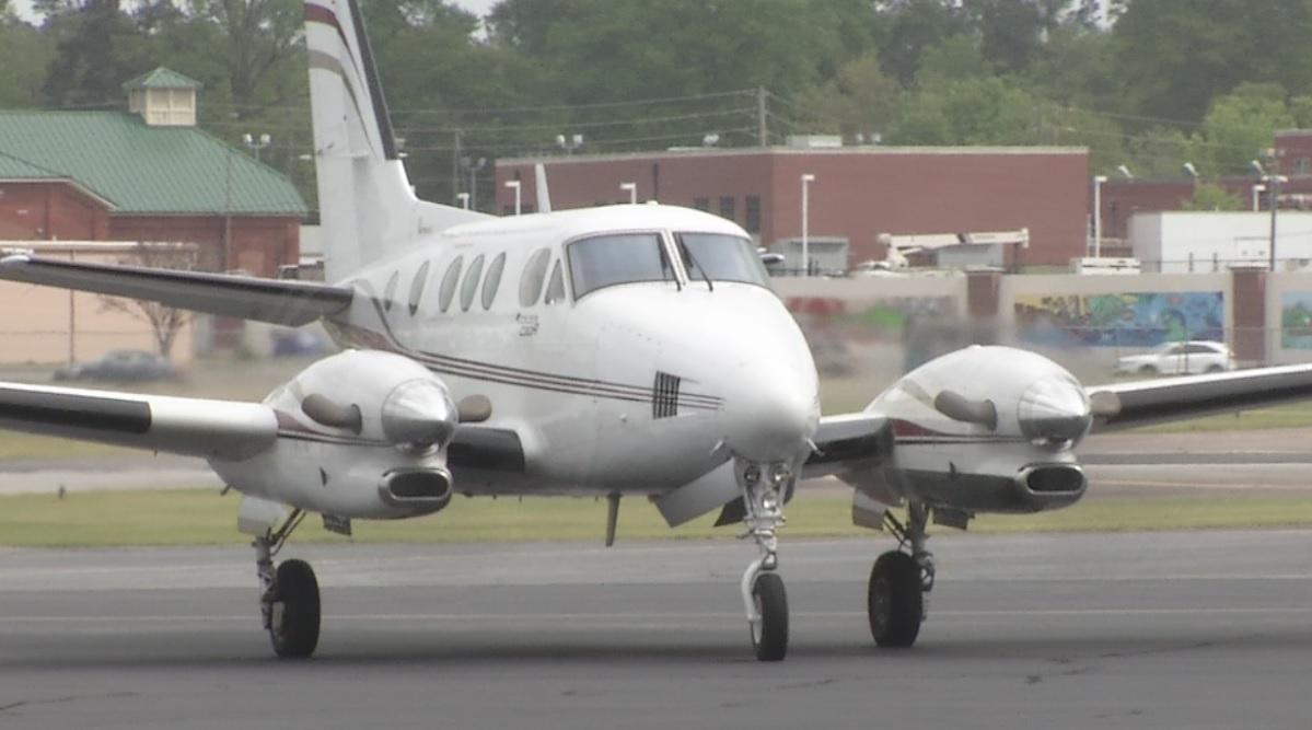 Private plane at Daniel Field_133336