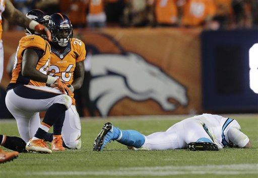 Panthers Broncos Football_177966