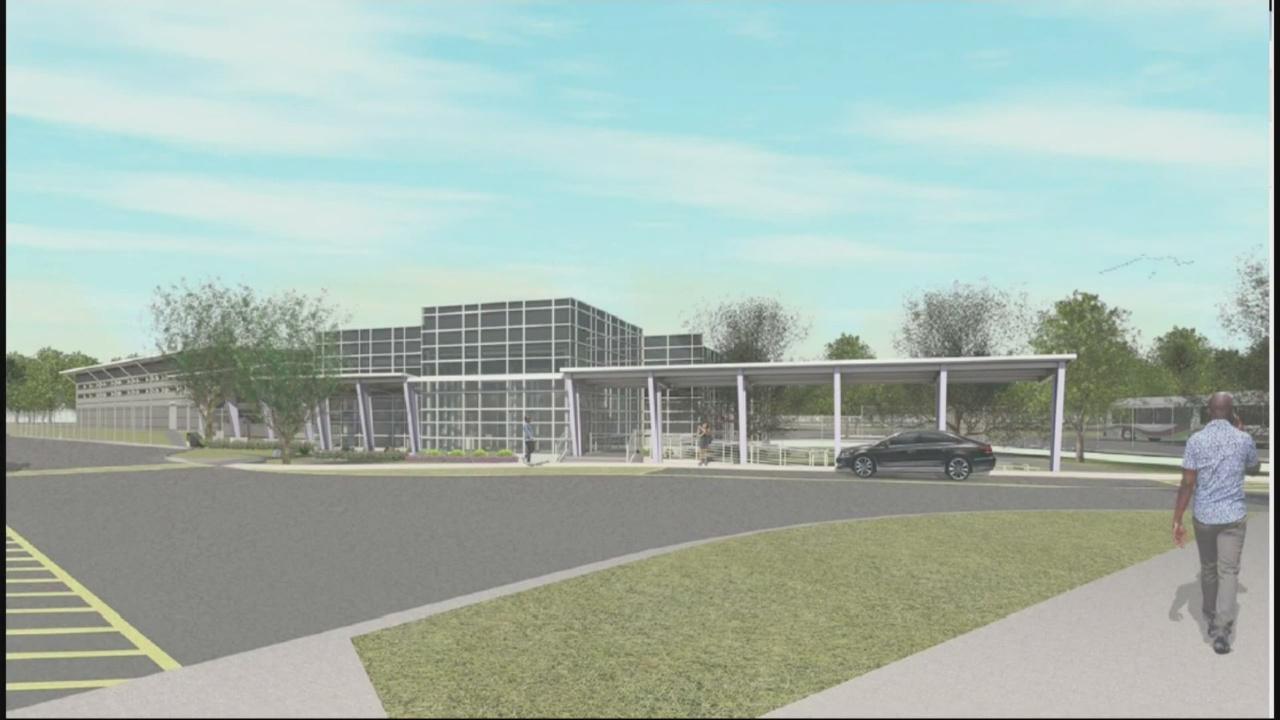 Transit facility to be re-bid.