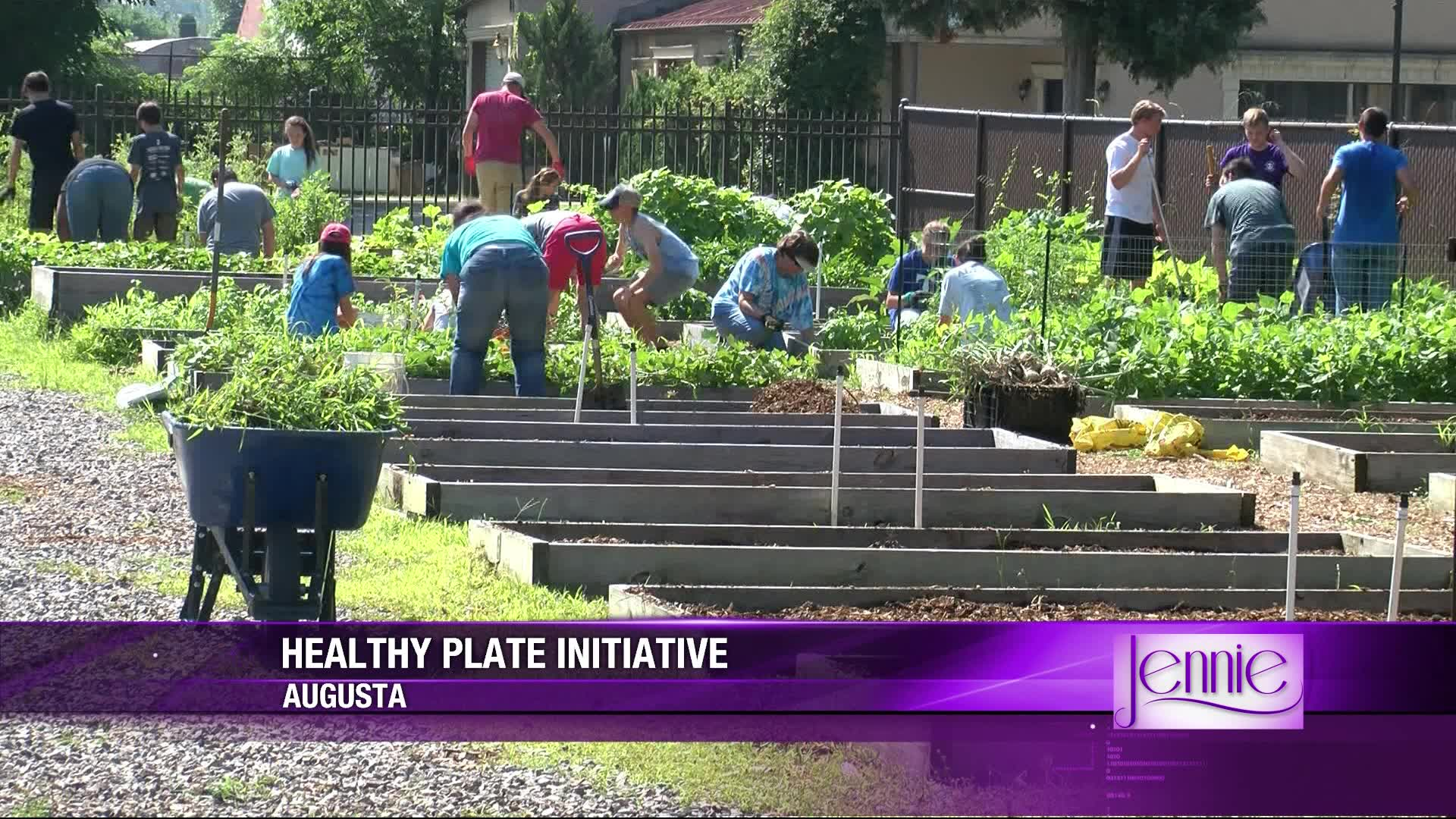 JENNIE: Healthy Plate initiative at local food bank