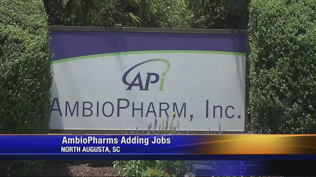 AmbioPharm expanding operations in Aiken, creating more jobs