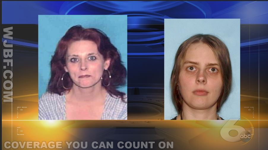 Mugshots of mother and daughter_283980