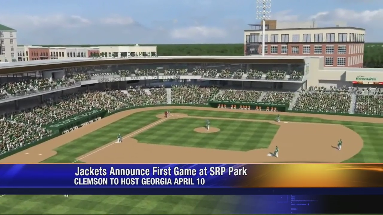 Clemson to host Georgia in first baseball game at North Augusta's SRP Park