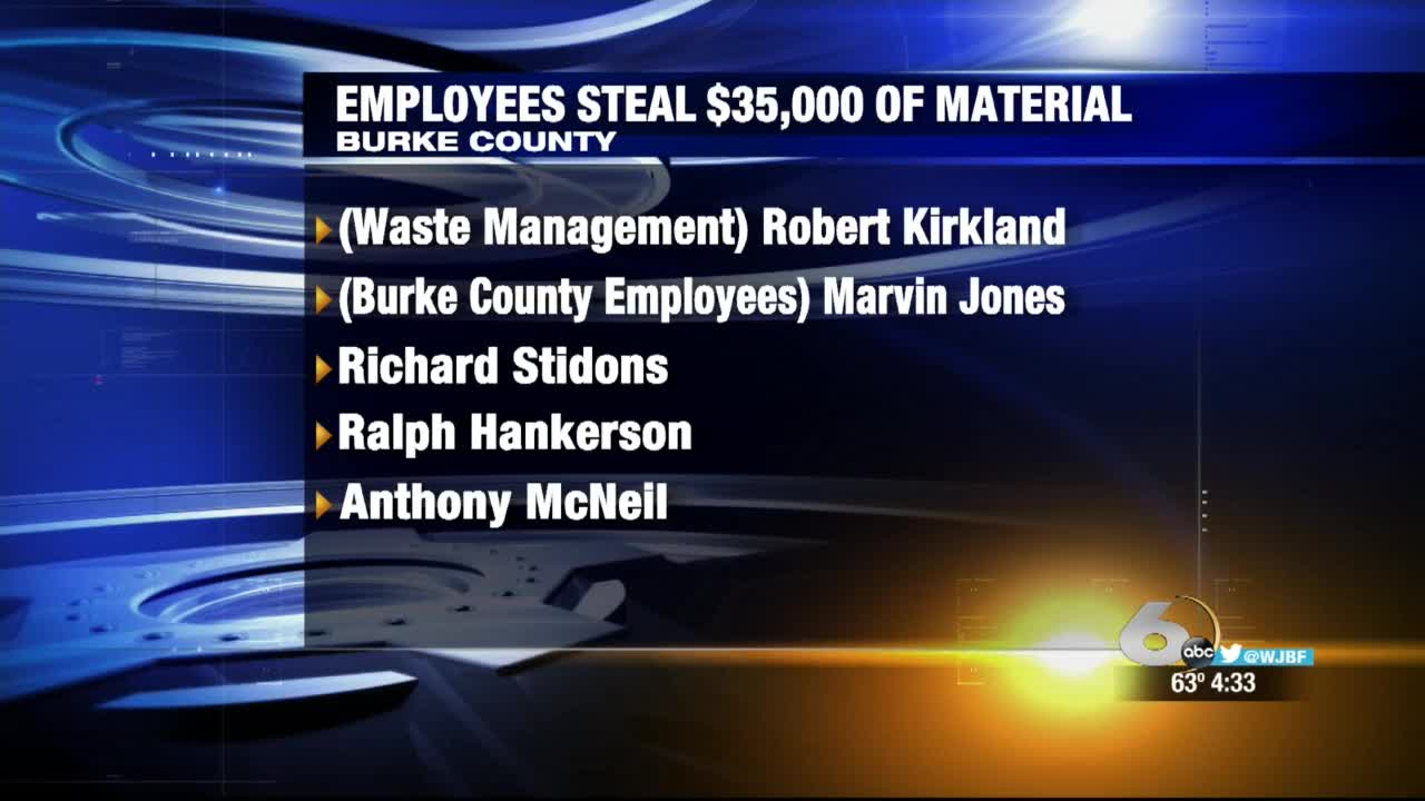 stolen materials burke county_324331