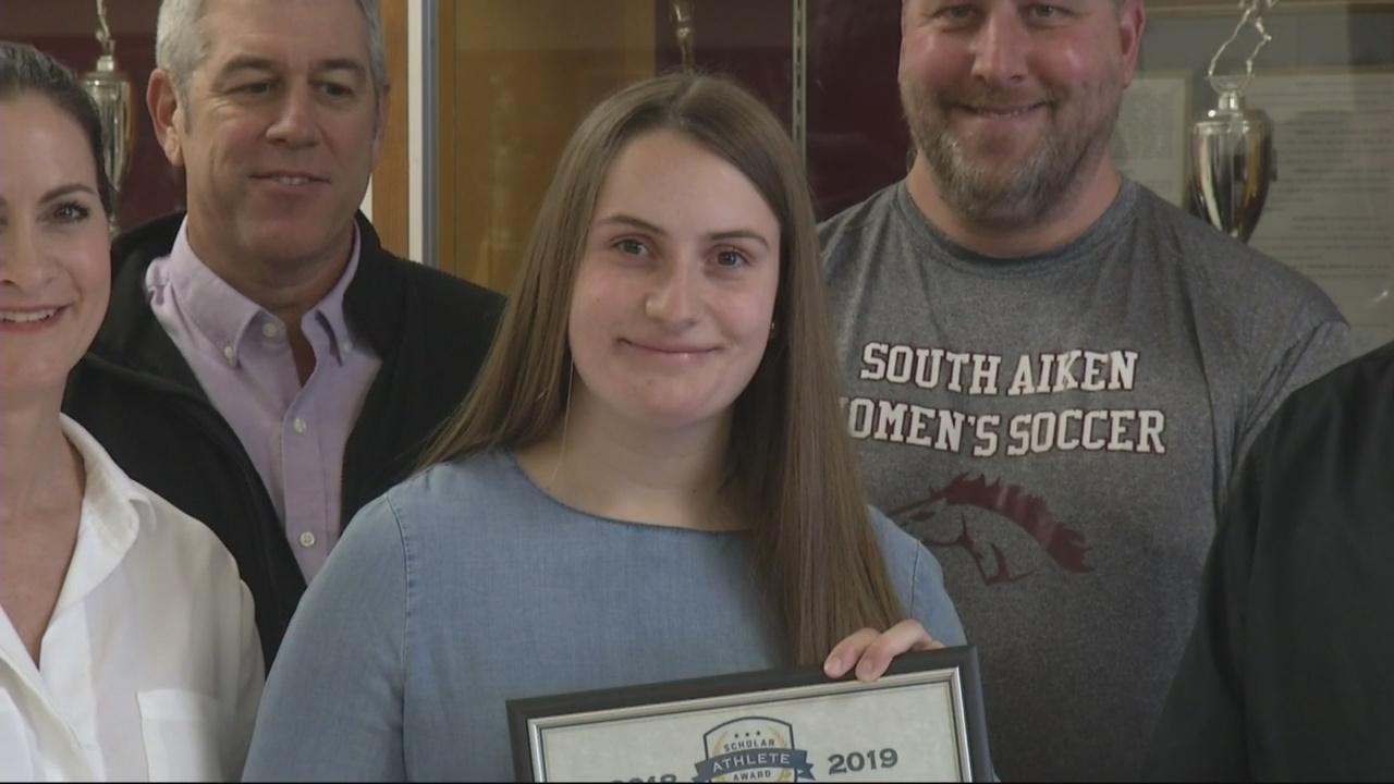 WJBF Scholar Athlete: South Aiken's Eme de Graaf