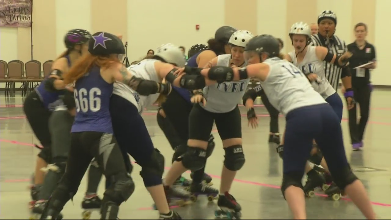 """Out There...Somewhere"": Roller Derby for real"