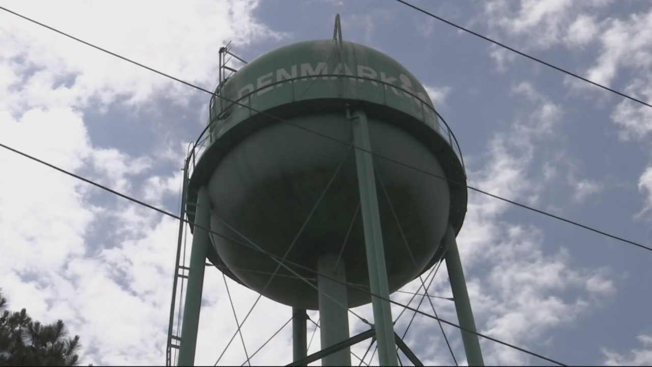 Report shows Denmark, South Carolina water system Unsatisfactory