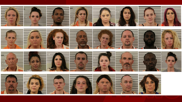 31 people arrested during drug, prostitution bust in Madison Co