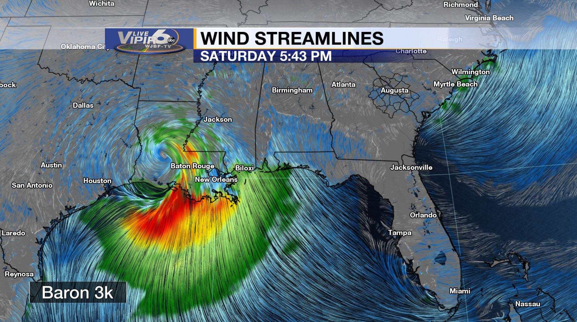 Live Vipir 6 Forecast | WJBF