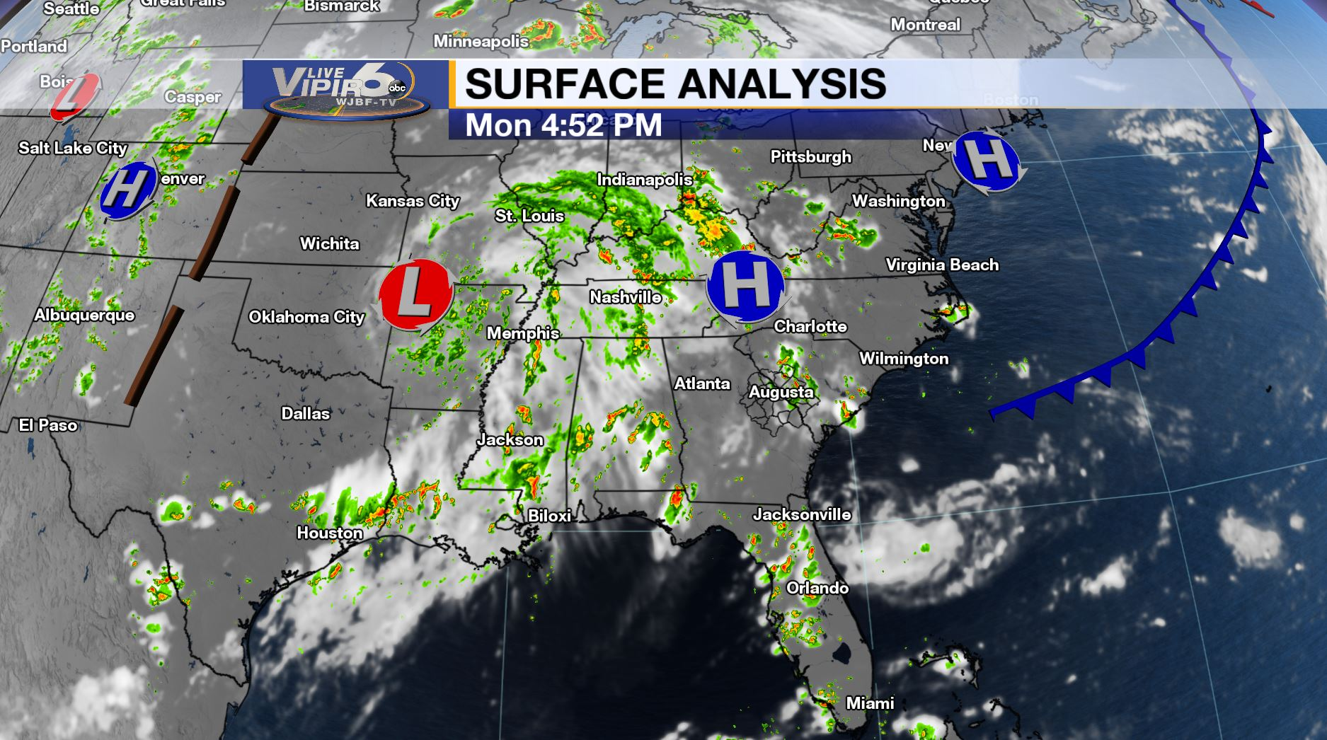 Live VIPIR 6 Weather Forecast 7/15/19 PM | WJBF