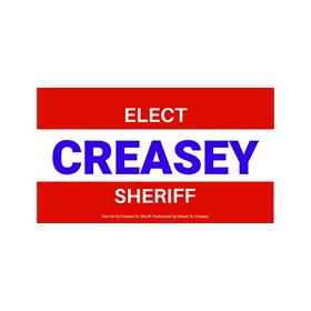 creasey for sheriff logo