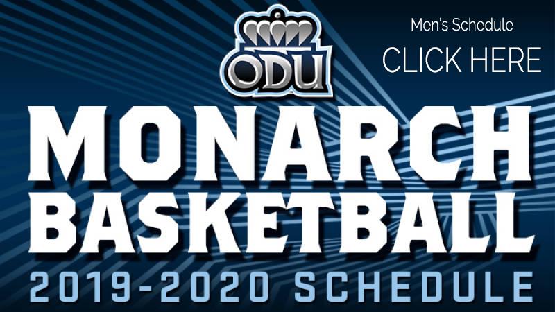 ODU Men's Basketball Schedule 2019-2020