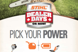 Battery Power. Made By STIHL