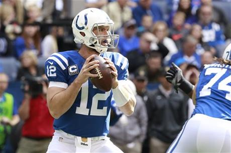 Indianapolis Colts quarterback Andrew Luck_65597