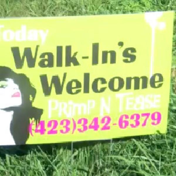 snipe sign or yard sign_66601