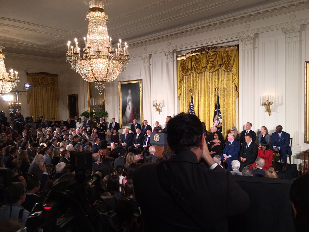 The Medal of Freedom ceremony at the White House_240843