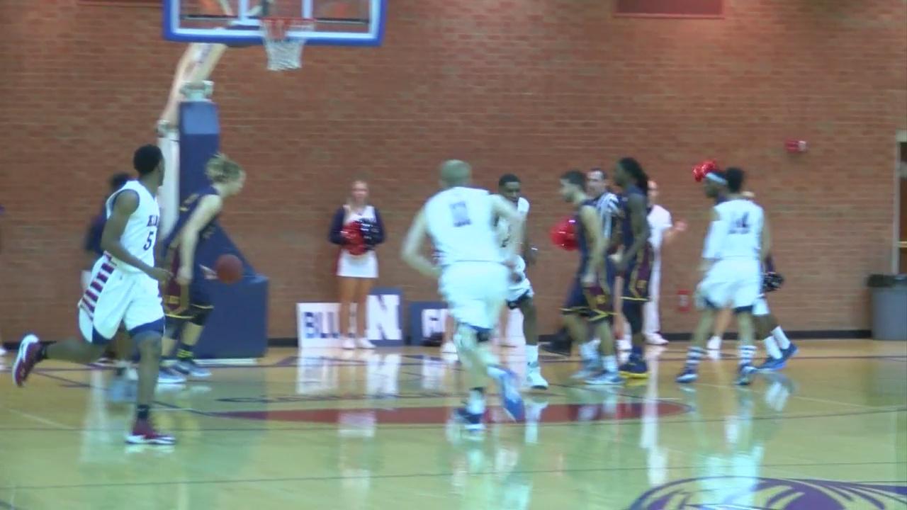 College Men's Basketball: LeVeau's big night lifts King over Emmanuel