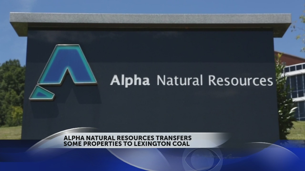 Alpha Natural Resources reveals transfer of idle assets to Lexington Coal