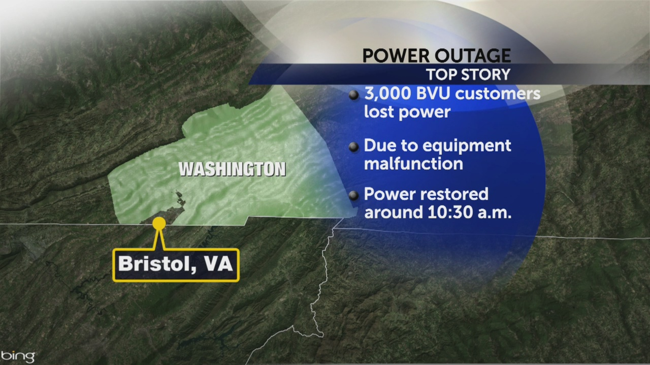 Power restored after outages reported in Bristol, VA due to low temps