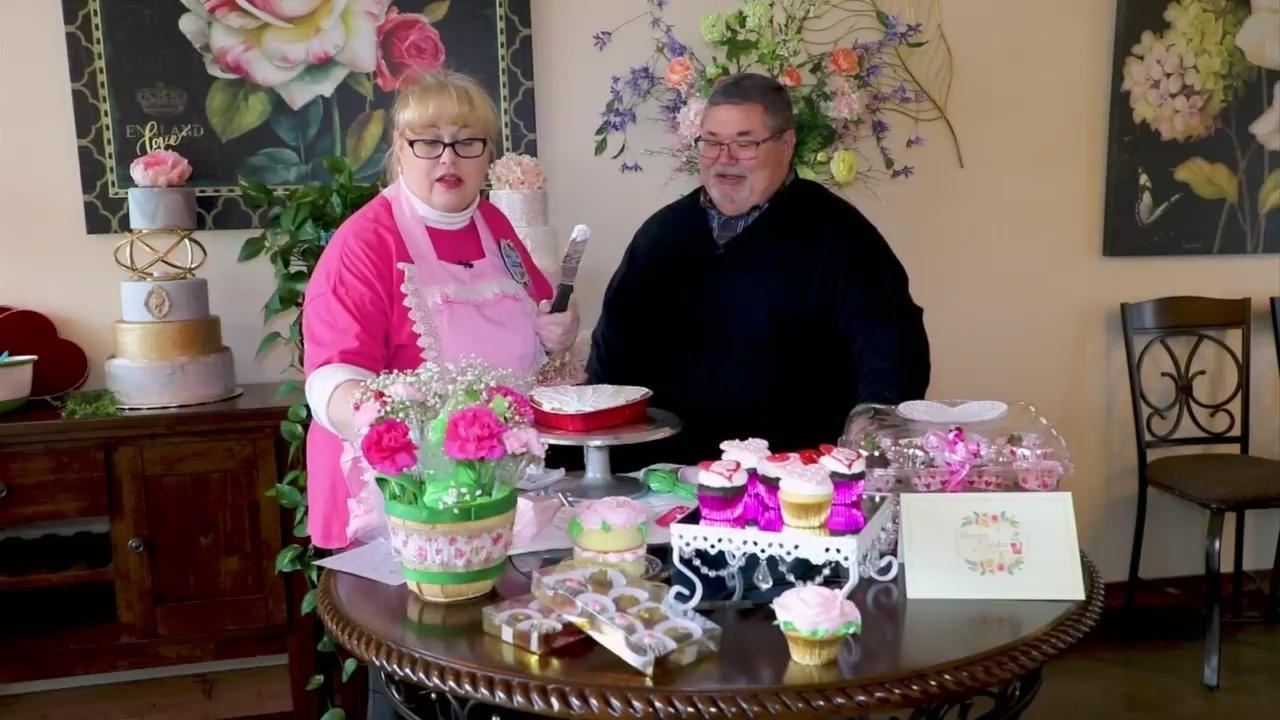 Valentines Treats at Blooming Cupcakes