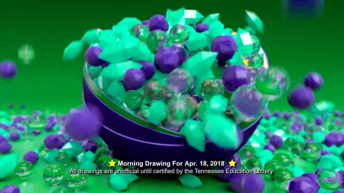 Tennessee Lottery for the morning of April 18.