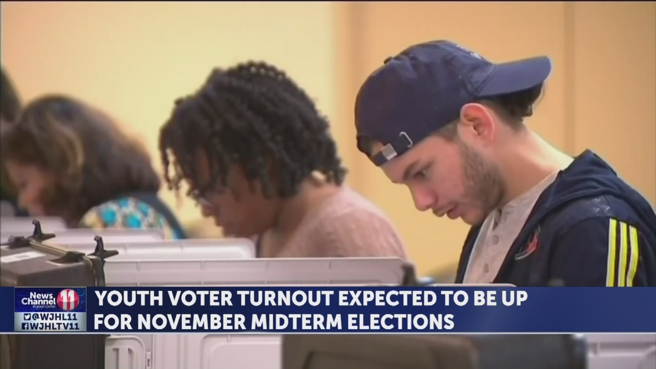 Youth voter turnout expected to increase for November midterm elections